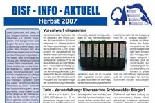 Ausgabe Herbst 2007
