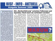 Ausgabe Sommer 2009